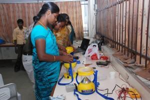 Solar lantern assembly