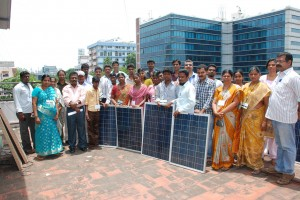 Solar equipments training