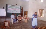 Girls' presentation